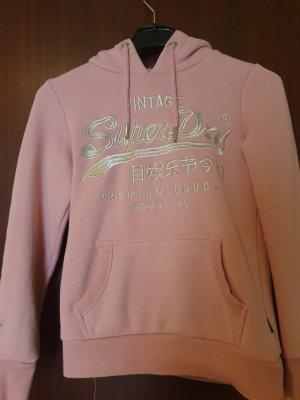 Original Superdry Pullover | Rosa | Größe S