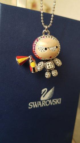 Swarovski Collier incrusté de pierres multicolore