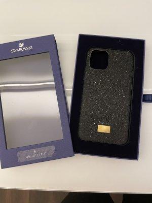 Swarovski Étui pour téléphone portable noir