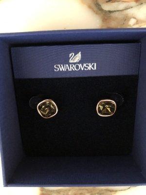 Original Swarovski Ohrringe, NEU, Gold