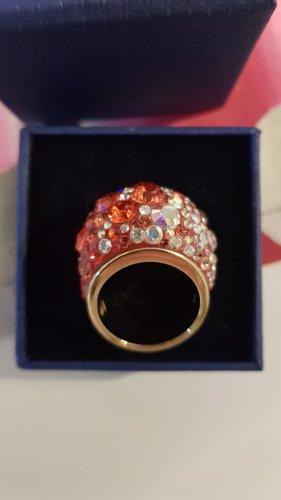 Original Swarovski Ring Pavee rot NEU & Box Gr. 58