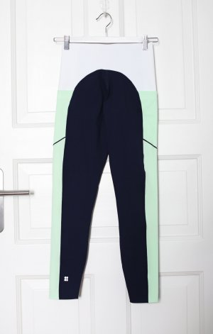 Original Sweaty Betty Hose Leggings Sport Active Wear Neu mit Etikett Gr. S Navy Blau