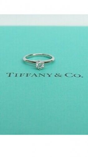 Tiffany&Co Statement Ring silver-colored