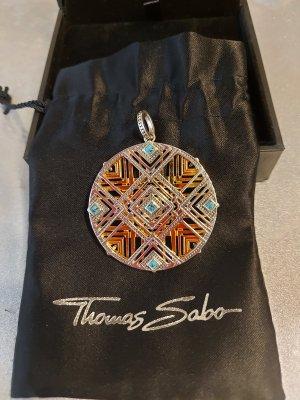 Original Thomas Sabo Anhänger Afrika Ornament Medaillon NEU Glam & Soul 925er Silber PE745-354-7