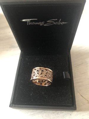 Original Thomas Sabo Ring mit Herzen und Zirkonia Steine 299€