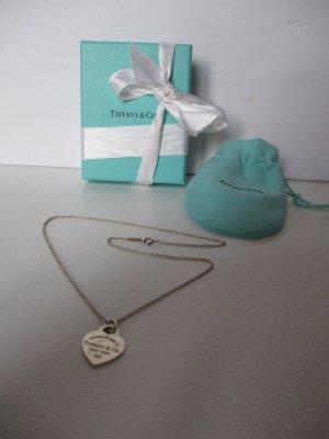 Tiffany&Co Colliers ras du cou argenté métal