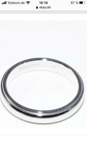 Original Tiffany & Co Platin Ehe Ring ( Milgrain )
