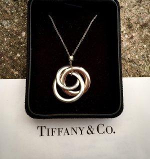 Tiffany&Co Srebrny łańcuch srebrny-w kolorze różowego złota