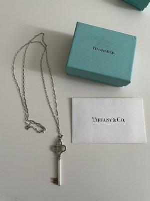 Original Tiffany Kette Schlüssel Anhänger silber