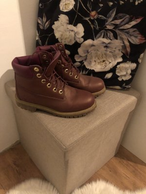 Timberland Bottes d'hiver multicolore cuir