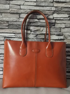 Tod's Carry Bag salmon leather
