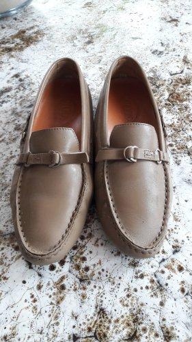 Tod's Mocasines marrón grisáceo