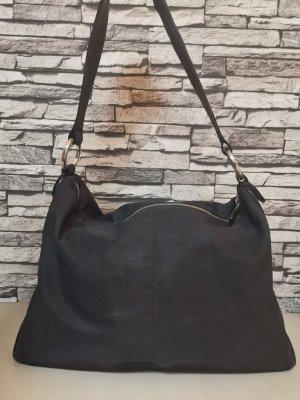 Original Tod's Tods Tasche schwarz echt Leder Umhängetasche