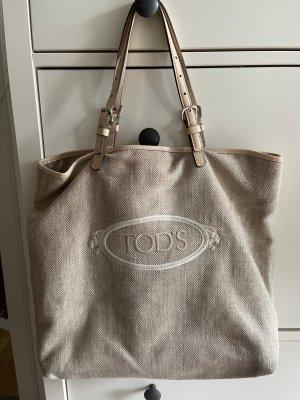 Tod's Shopper beige clair