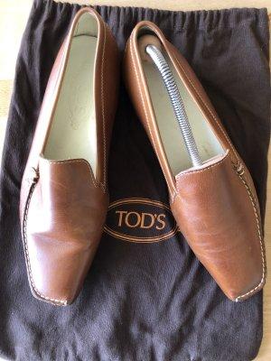 Tod's Mocassins bruin