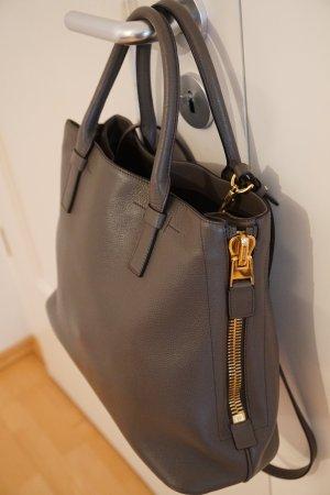 Original Tom Ford Jennifer Trap graphite grau NP 2.350 € Tasche Shopper Bag