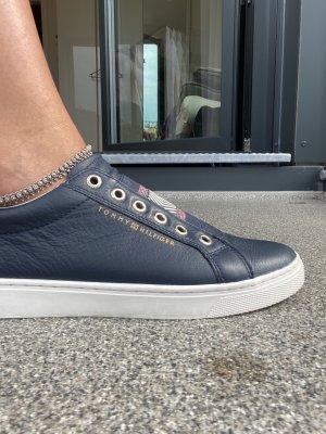Original Tommy Hilfiger Damen Echt Leder Sneakers