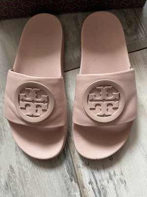 Tory Burch Beach Sandals dusky pink leather
