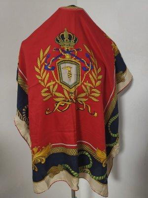 Trussardi Bufanda de seda rojo