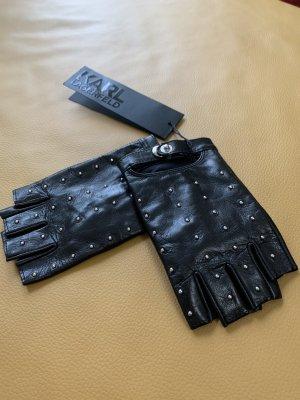 Original und neu- Lagerfeld Handschuhe fingerlos