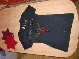 Original USA-Bon Jovi Heart & Dagger Bling TShirt, Gr. S