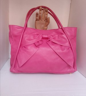 Original Valentino Garavani pink Betty bow patent Leder Schleife Neupreis 1075 Dollar