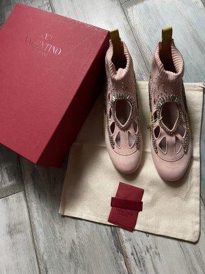 Valentino Garavani Instapsneakers rosé