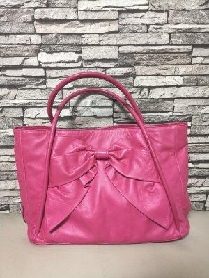 Original Valentino Garavani Tasche pink Betty bow patent Leder Schleife Neupreis 1075 Dollar