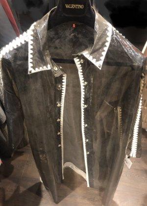 Valentino Płaszcz przeciwdeszczowy szaro-brązowy-taupe