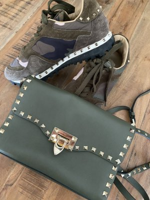 Original Valentino Rockstud Crossbody Bag Green