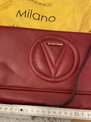 Original Valentino rot Abendtasche Clutch Crossbody