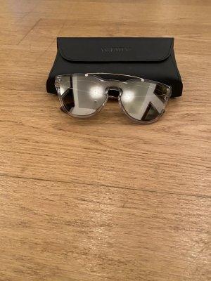 Valentino Gafas de piloto color plata