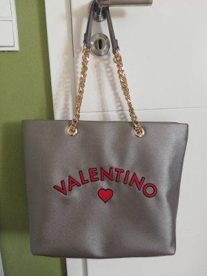 Mario Valentino Shopper gris brun
