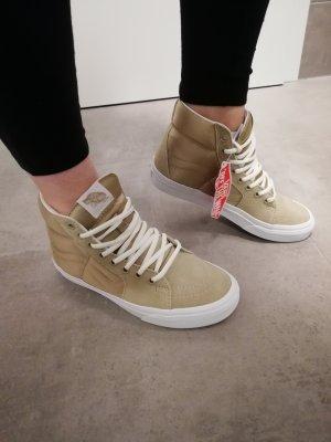 original Vans Sk8 Hi Sneaker gold beige 37/38