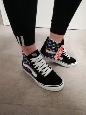 original Vans Sk8 Hi Sneaker Schwarz bunt 37
