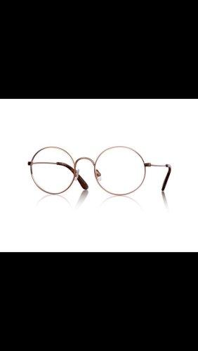 Glasses dark orange