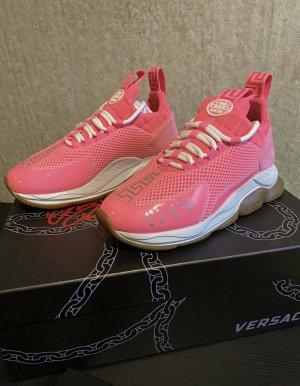 Original Versace Chain Reaction Sneaker neon pink 37 neuwertig