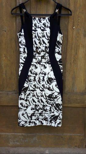 Versace Stretch Dress white-black