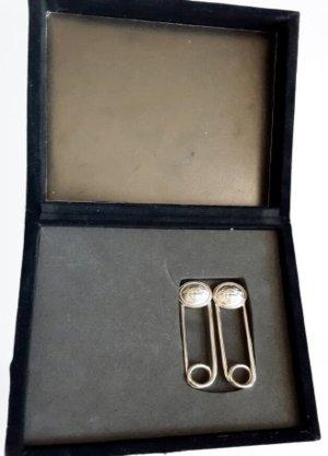 Original Versace Medusa - Ansteck Nadel Brosche Silber