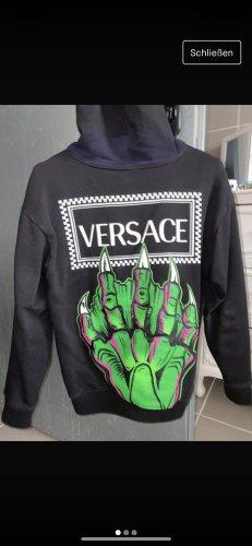 Versace Hooded Sweatshirt multicolored