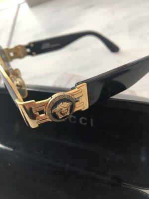 Versace Occhiale stile retro nero-oro