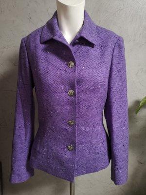 VERSUS Versace Blazer en laine lilas laine