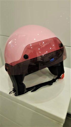 Original Vespa Helm Jethelm NEW SOFT TOUCH Rosa Piaggio Gr. M - NEU
