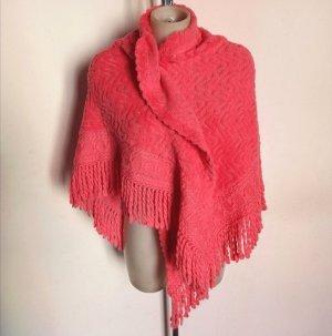 Balmain Woolen Scarf magenta wool