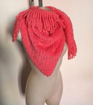 Balmain Écharpe en laine magenta laine