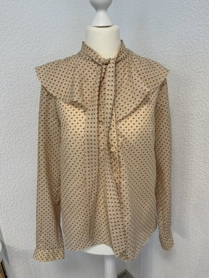 Vintage Long Sleeve Blouse multicolored