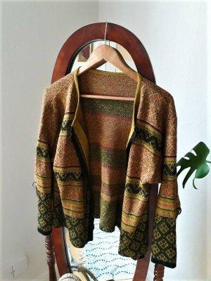 Original Vintage Cardigan, Strickjacke gold