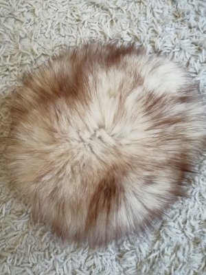 Delmod Fur Hat multicolored