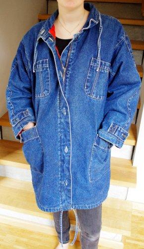 Abrigo ancho azul