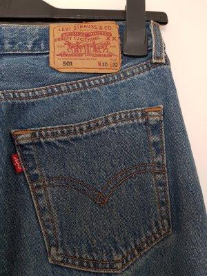 Original Vintage Levi's 501, blau, Gr. 30/32
